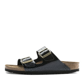 Birkenstock - Birkenstock Arizona Magic Snake Black sort dame sandal