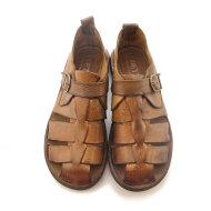 Bubetti - Bubetti 3554 Lux 547 brun damesandal med hælkappe