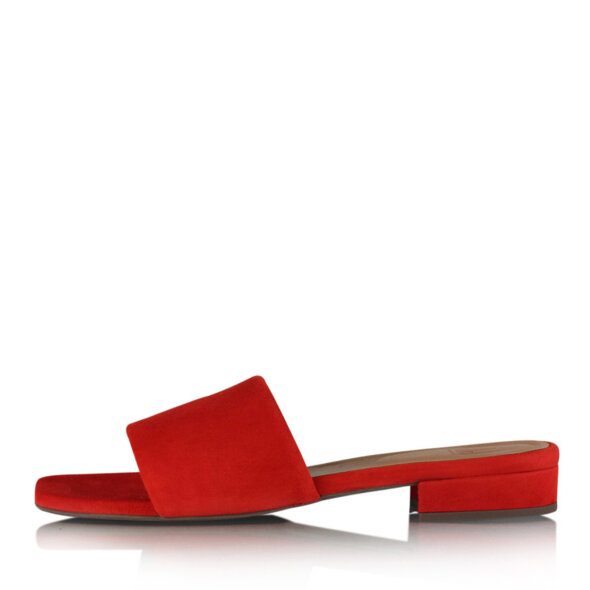 Billi Bi - Billi Bi 8718 rød slip in damesandal