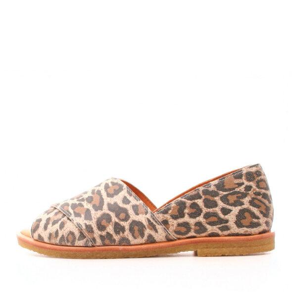 Cashott - Cashott 19162 leopard damesandal