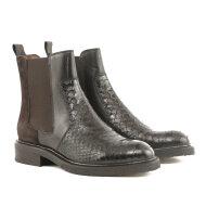 Billi Bi - Billi Bi 3520 Mørkebrun Chelsea støvle med nitter