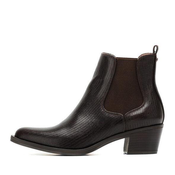 Unisa - Unisa Greyson Mørkebrun Cowboy Damestøvle