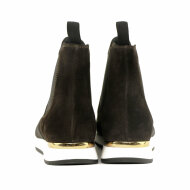 DL Sport - DL Sport 4435 Brun Chelsea støvle med sneakersål