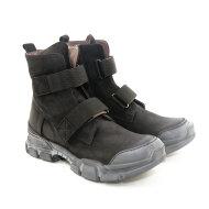 Lofina - Lofina I9-782 Sort damestøvle med velcro