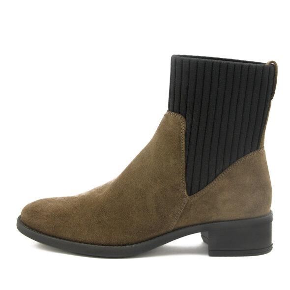 Unisa - Unisa Ellen brun damestøvle i ruskind