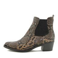 Unisa - Unisa Greyson Cowboy Damestøvle i slangepræget skind