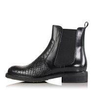 Billi Bi - Billi Bi 7424 sort chelsea støvle med grøn detalje