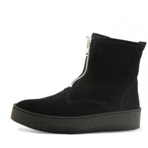 Billi Bi - Billi Bi Sport 5832 sort vinterstøvle med rulamsfor