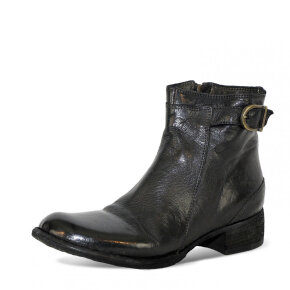 Bubetti - Bubetti 9715 Lux Nero Sort Støvle med Spænde