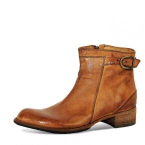 Bubetti - Bubetti 9715 Lux 541 Cognac Støvle med Spænde