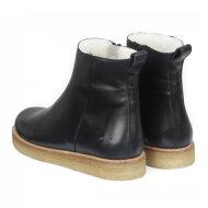 Angulus - Angulus 7561-101 sort dame vinterstøvle med uldfor