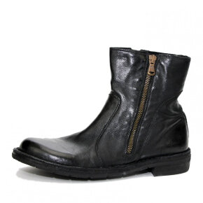 Bubetti - Bubetti 9534 Lux.Nero Sort Damestøvle med Skjult Pløs