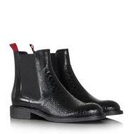 Billi Bi - Billi Bi 7424 Sort Chelsea Støvle med rød detalje