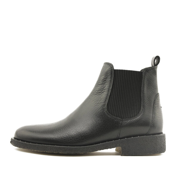 Angulus - Angulus 7287-114 dame chelsea støvle i sort skind