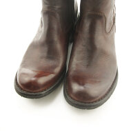 Bubetti - Bubetti 9886 Lux 538 Kastanjebrun Damestøvle med Langt Skaft
