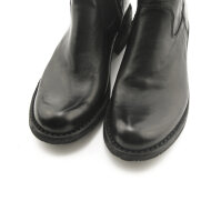 Bubetti - Bubetti 9886 Lux Nero Sort Damestøvle med Langt Skaft