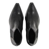 Billi Bi - Billi Bi 3700 sort ankelstøvle i slangepræget skind