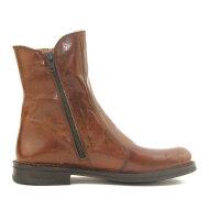 Bubetti - Bubetti 9892 Cognac Damestøvler i Skind med Dekorative Knapper