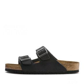 Birkenstock Arizona Oiled Leather Black - Birkenstock Sandal - Damesandal - Soft