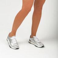 Unisa - Unisa Falconi Dame Sneaker i Sølv Skind
