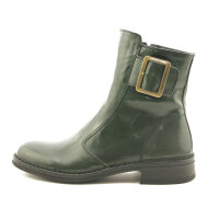 Bubetti - Bubetti 2047 Grøn Damestøvle med Pyntespænde