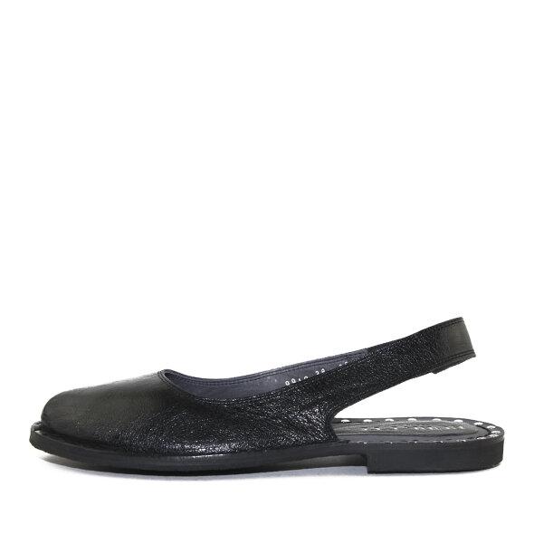 Bubetti - Bubetti 9910 Sort Slingback Dame Sandal med Nitter