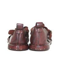 Bubetti - Bubetti 8533 Kastanjebrun Herre Sandal med Hælkappe