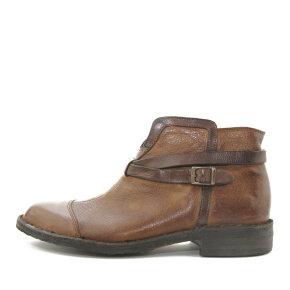 Bubetti - Bubetti 9905 Lux 547 Lysebrun Damestøvle i Skind