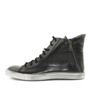 Bubetti - Bubetti 6928 Smart Nero Sort Dame Sneaker Støvle