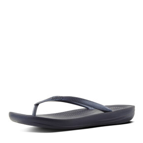 Fitflop - Fitflop iQshion Midnight Navy Dame Klip Klapper
