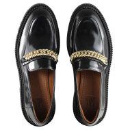 Billi Bi - Billi Bi 14710 Sort Dame Loafer med Guldkæde