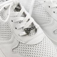 DL Sport - DL SPORT 4657 Hvid Dame Sneaker med Chunky Sål
