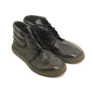 Bubetti - Bubetti 9915 Lux Nero Sort Dame Sneaker i Skind