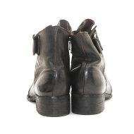 Bubetti - Bubetti 9920 Lux 539 Mørkebrun Dame Støvlet med Stort Spænde