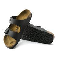 Birkenstock - Birkenstock Arizona Birko-flor Black Sandal