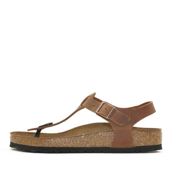 Birkenstock - Birkenstock Kairo Brun Dame Sandal med Tåstrop og Hælrem