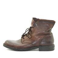 Bubetti - Bubetti 9665 Lux 538 Kastanjebrun Dame Snørestøvle