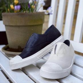 Lofina - Lofina E5-250 sort sneaker med hvid sål