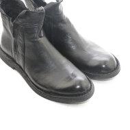 Bubetti - Bubetti 9862 Lux Nero Sort Kort Damestøvle