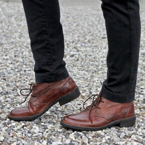 Bubetti - Bubetti 6797 Lux 538 kastanjebrun damestøvle