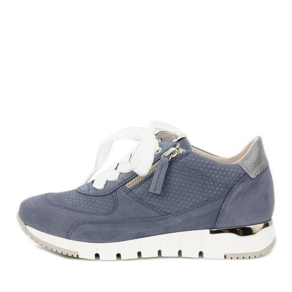 DL Sport - DL Sport 5029 Babyblå Dame Sneaker i Ruskind