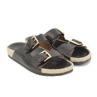 Billi Bi - Billi Bi 2658 Sort Slip-in Dame Sandal