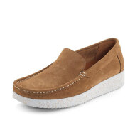 Nature  - Nature Elin Suede Toffee Dame Loafer