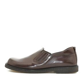 Angulus - Angulus 3510-101 Mørkebrun Fodformet Dame Loafer