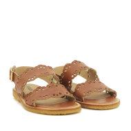 Angulus - Angulus 5674-101 Tan Sandal med spænde. Blød og fleksibel rågummisål