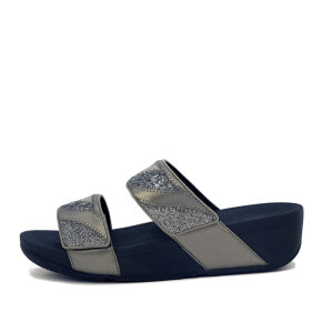 Fitflop - Fitflop DN6-861 Mina Ombre Pewter Grey Glitter Slides