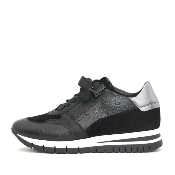 DL Sport - DL Sport 6031 Sort sneaker med hvid/sort sål