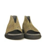 Lofina - Lofina 1E-267 sandal i Nubuck stone med lynlås