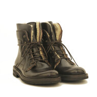 Bubetti - Bubetti-9954- Smart-111-mørkbrun-foret-støvle