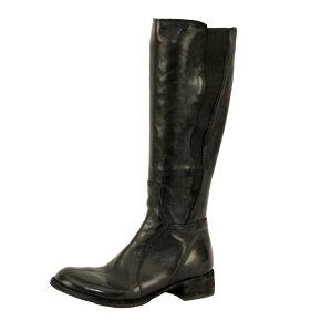 Bubetti -  Bubetti 9638 Lux Nero lang skindstøvle i sort